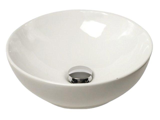 Camper Badkamer Wasbak : Wasbakken sanitair : ronde witte wasbakken opbouw